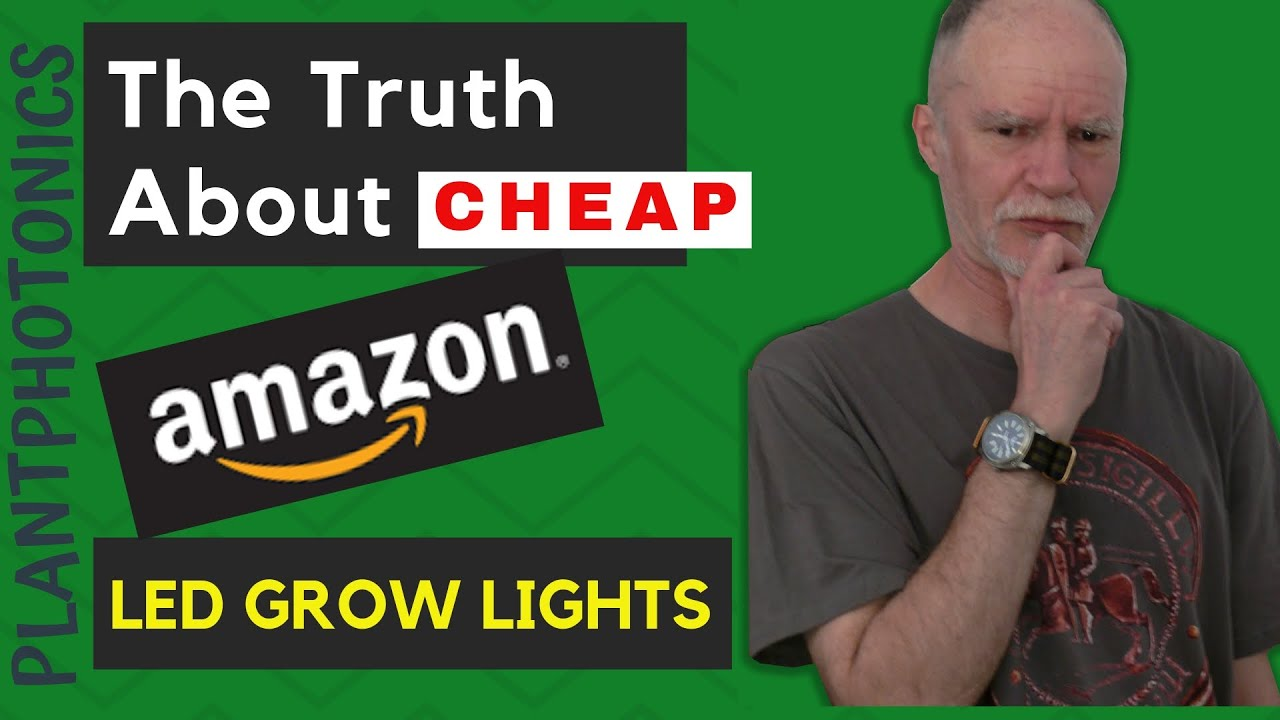 The Truth About Cheap Amazon Led grow Lights