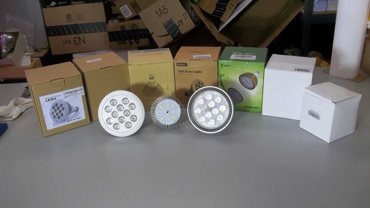 7 LED Grow Lights To Test And Results From The 12w LED Grow Light With The Bean Plant