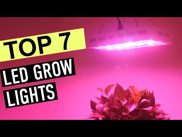 BEST 7: LED Grow Lights 2019