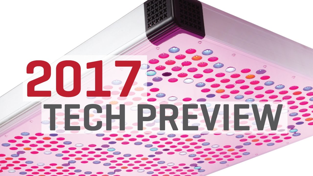 Hydroponics in 2017: LED Grow Lights and Nanoparticles!