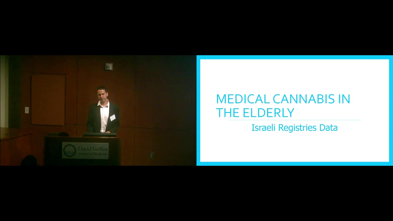 The Use of Medical Cannabis in the Elderly in Israel | UCLA Health Cannabis Research Initiative