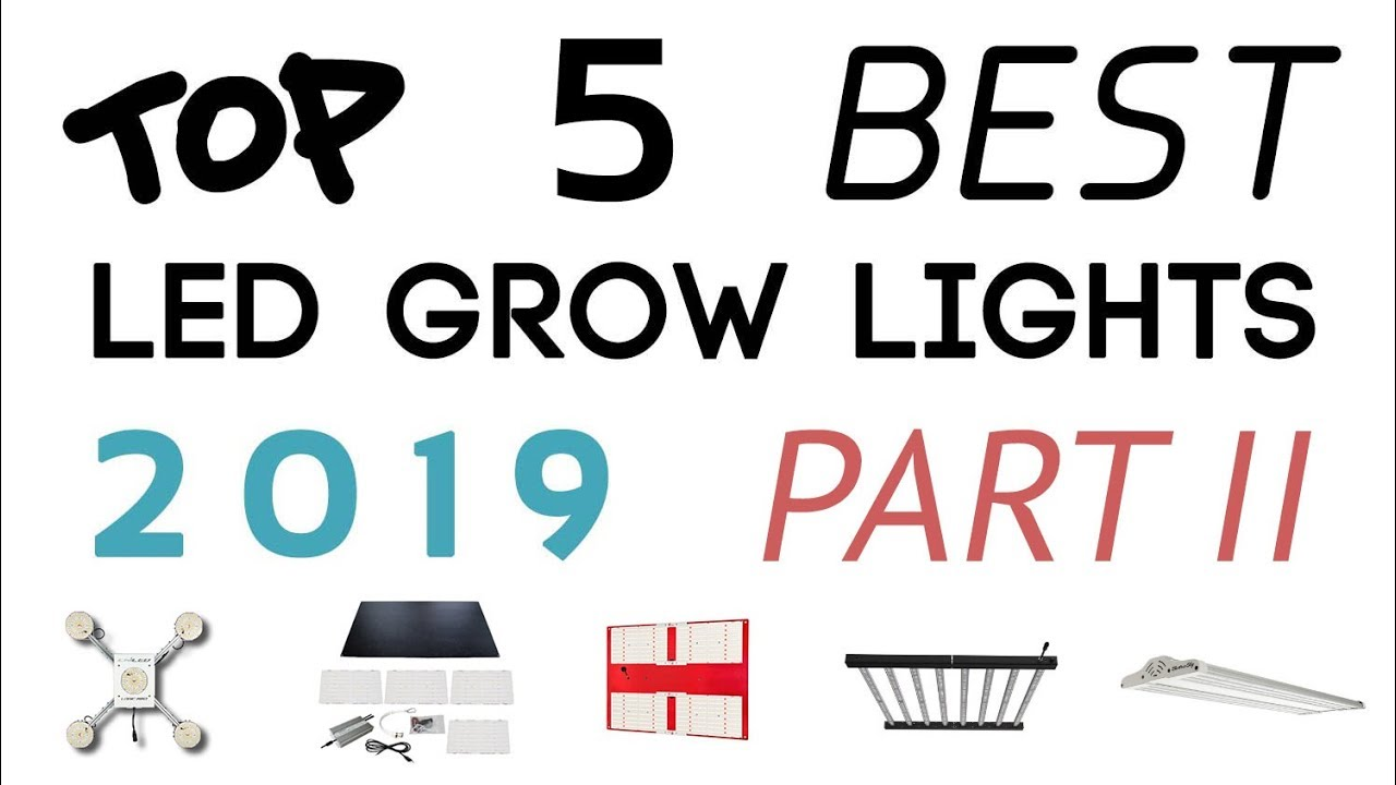 Best LED Grow Lights 2019 – PART II (Under $1000)