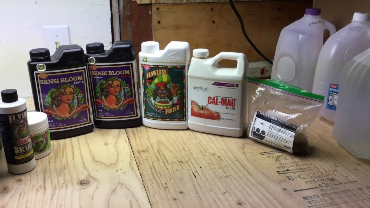 How to grow good cheap weed series: #6 Nutrients