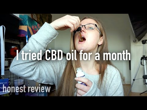 I tried CBD oil for a month… Here are my honest thoughts