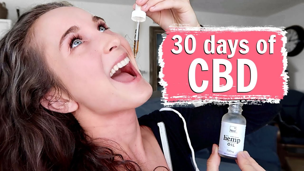 I TRIED CBD OIL FOR 30 DAYS | My Results, Benefits, & Surprises!