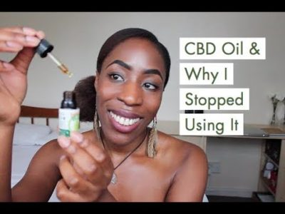 My Experience With CBD Oil & Why I Stopped Using It …