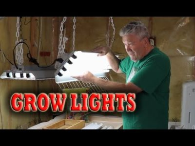 GROW LIGHTS FOR PLANTS: Grow plants indoors and get a head start on the growing season.