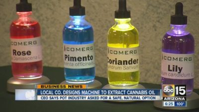 Local company designs machine to extract cannabis oil