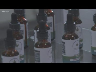 CBD oil stops woman's uncontrollable shaking
