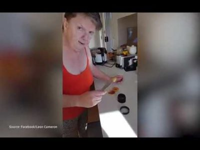 Miracle Oil: Watch woman 'shaking uncontrollably' before taking cannabis oil