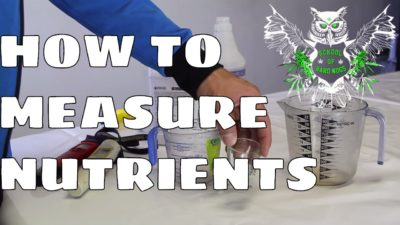 Measuring Nutrients: The Basics