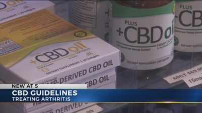 Guidelines released for use of CBD for arthritis relief