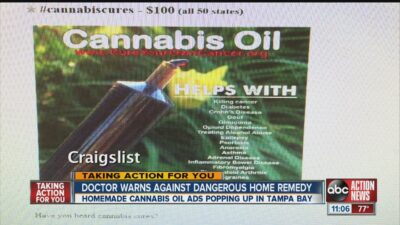 Doctor warns against dangerous cannabis oil home remedy