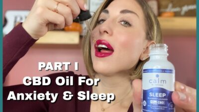 CBD OIL REVIEW FOR ANXIETY| Featuring Calm by Wellness Co. (Part I)| Clean Green Being