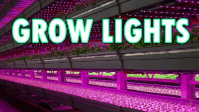 Growing Lights LED Grow Lights for Seedlings or Hydroponics