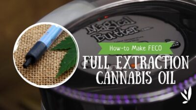 How-to Make Full Extraction Cannabis Oil (FECO) using the Magical Butter