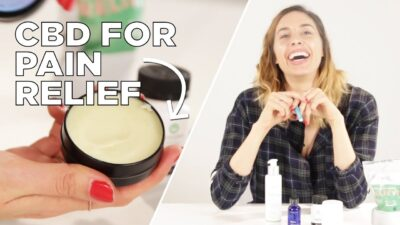 How I Use CBD Products Every Day for Pain Relief